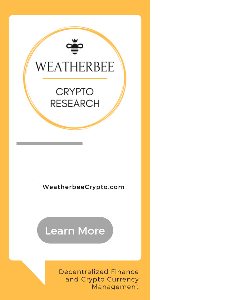 Weatherbee Crypto Research
